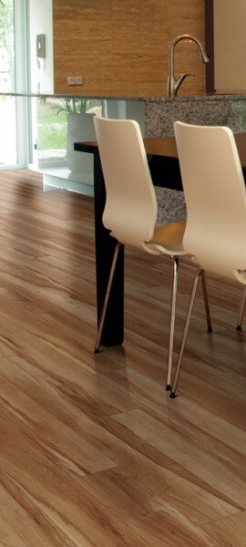 Luxury vinyl flooring dining room | Boyer's Floor Covering
