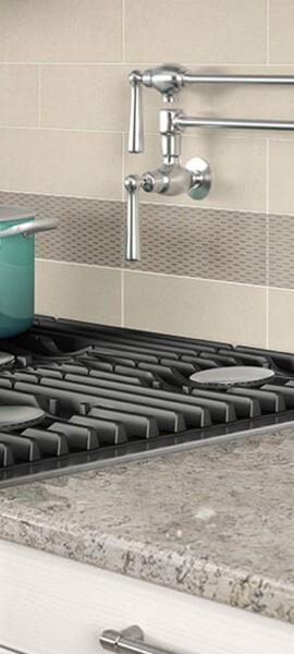 Tile backsplash | Boyer's Floor Covering