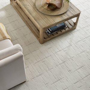 Wooden table on floor | Boyer's Floor Covering