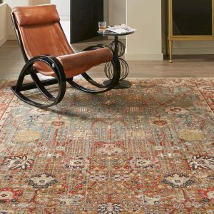 Armchair on Area Rug | Boyer's Floor Covering