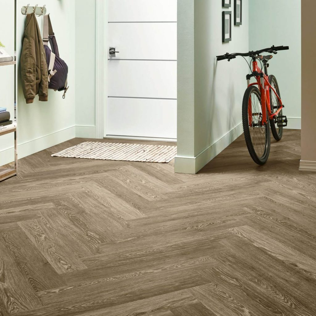 Bicycle on flooring | Boyer's Floor Covering