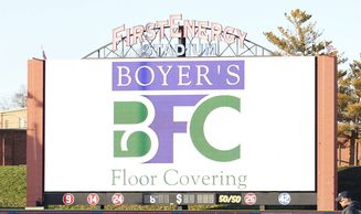 Boyers floor coverings nameplate | Boyer's Floor Covering
