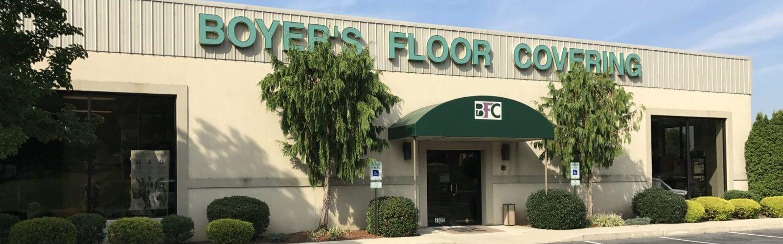 Boyers floor covering storefront   Boyer's Floor Covering