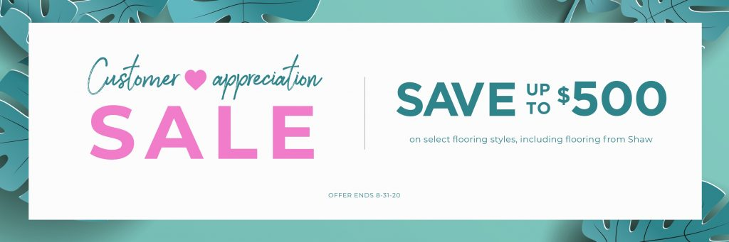 Customer Appreciation Sale | Boyer's Floor Covering