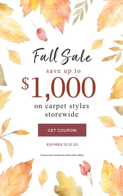 Fall Carpet Sale | Boyer's Floor Covering