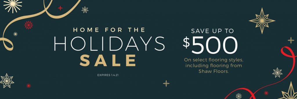 Home For the holiday sale | Boyer's Floor Covering