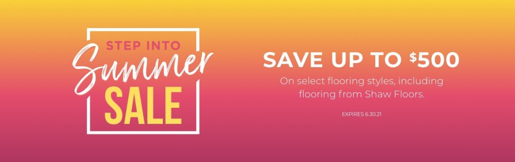Step into Summer Sale