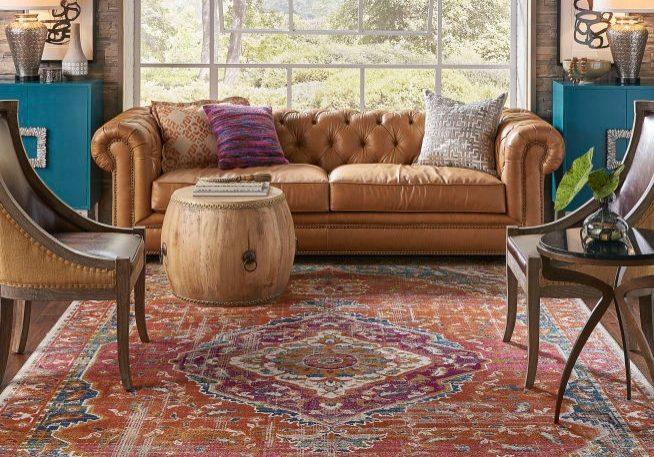 Karastan Meraki Solace Multi Grey Room Scene   Boyer's Floor Covering