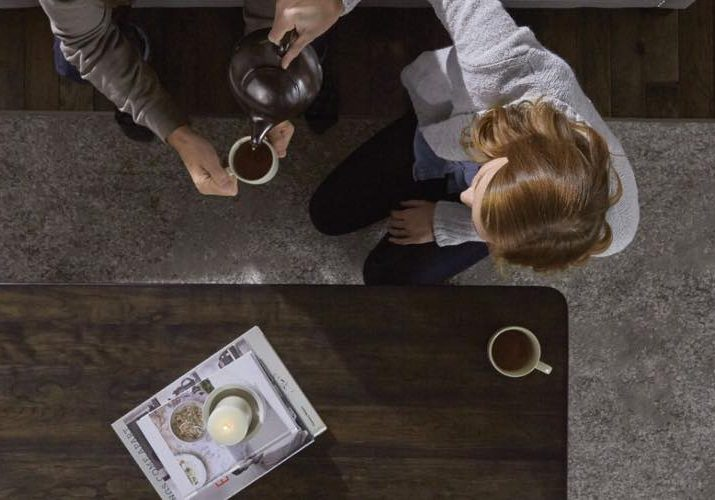 Woman serving coffee | Boyer's Floor Covering